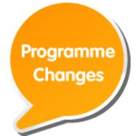 Programme Changes